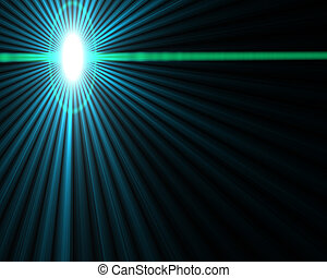 starburst - Abstract light effect star burst glow background...