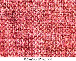 Red Woven Fabric - Red white woven fabric suitable for use...