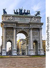 Milan: Arco della Pace