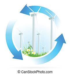 Renewable Energy Icon