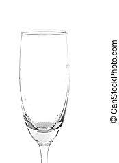 水, 玻璃