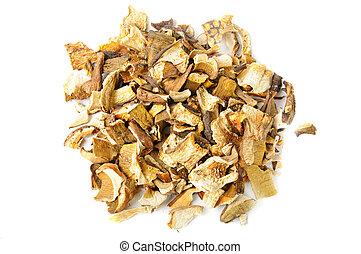 dried white mushrooms