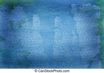 Beautiful grunge blue background