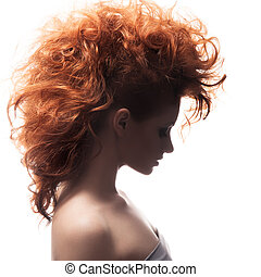 Beauty Portrait Hairstyle