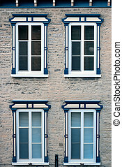 Window - Ancient window of old building in Quebec City