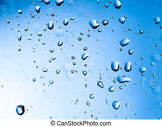 Water drops - Background of beautiful Water drops