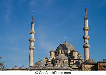 Eminonu New Mosque, Istanbul, Turkey