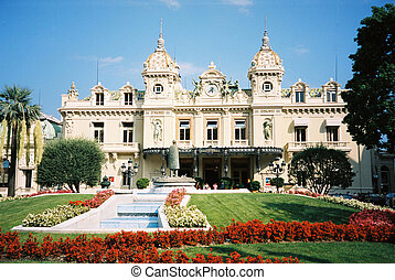 Casino in monte-carlo - Grand casino in monte-carlo in the...