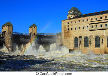 power plant - hydro power in norway