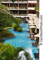 Luxury tropical hotelBali - Luxury tropical hotel resort...