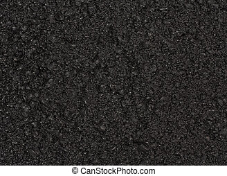 Tarmacadam or asphalt background - Freshly surfaced tarmac...
