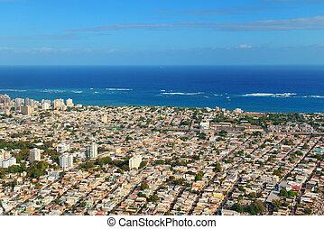 San Juan aerial view
