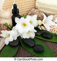 Tropical Spa Treatment - Spa and aromatherapy accessories...