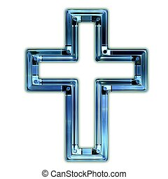 Christian cross.