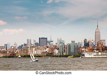 Midtown Manhattan - Panorama of midtown Manhattan