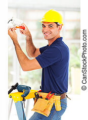 happy cctv camera technician - happy cctv system technician...