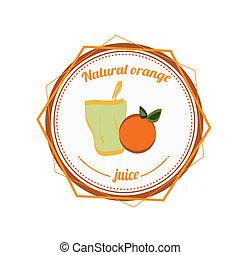 orange juice - natural orange juice and orange fruit