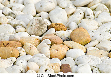 Close up pebble texture - Close up various pebble stones...