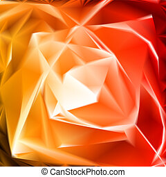 Flower abstract background. Vector