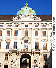 Hofburg Imperial Palace (Vienna,Austria) - Entrance of...