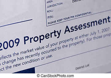 assessment notice - property assessment notice