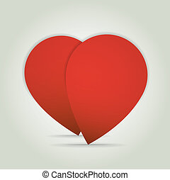 Heart vector valentines day