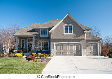 American House Living - Living in America. Average size...