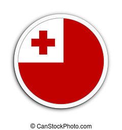Tonga - Badge flag of Tonga