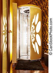 Tanning booth - solarium - Tanning booth - vertical solarium...