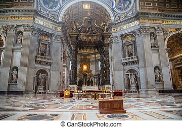 Above the Tomb of Saint Peter - Alter over the tomb of Saint...