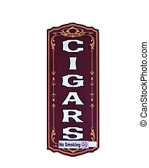 Cigar Store Sign