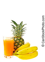 fresh tropical fruits and juice - fresh tropical fruits:...