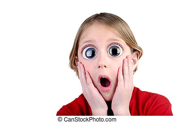 Surprised Young Girl