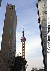 shanghai architecture- pearl tower