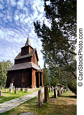 Torpo Stave Church - A stavechurch - stavkirke - in Norway...