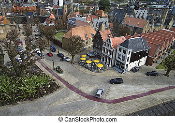 Miniature city Madurodam The Hague, Netherlands -...