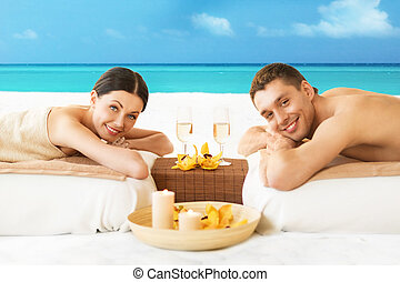 couple on the beach - picture of couple on the beach...