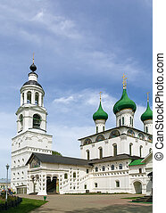Tolga Monastery, Yaroslavl, Russia - Cathedral of the Entry...