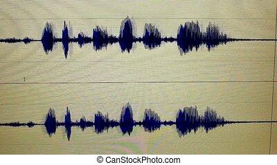 sound edit - waveform sound edit