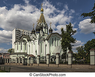 Church of the Resurrection in Sokolniki (Kedrovskaya Church)...