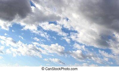 cloudscape - timelapse cloudscape sky