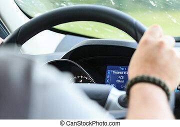 Bilder von cockpit, Auto - altes, Weinlese, Aus, -, Straße, Auto ... | {Auto cockpit straße 28}