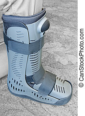 Compression boot or soft cast footwear - Modern compression...