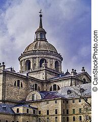 El Escorial Monastery detail - El Escorial, November 2012...