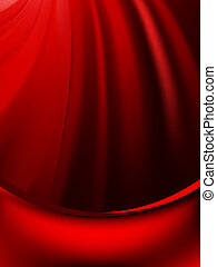 Red curtain fade to dark card. EPS 8 vector file included