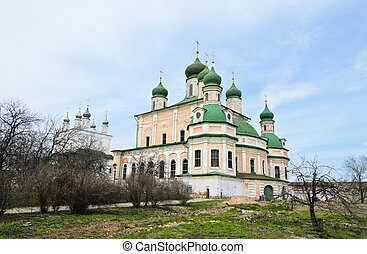 Goritsky Monastery of Dormition in Pereslavl-Zalessky,...