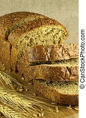 Bread, corte, borroso, Plano de fondo
