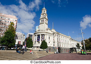 Auckland Town Hall - AUCKLAND,NZ - MAY 29:Auckland Town Hall...