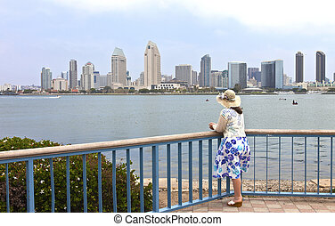 Visiting San Diego california.