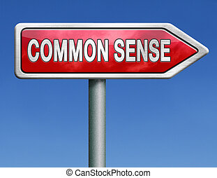 common sense no nonsense and a clear vision and idea lead to...
